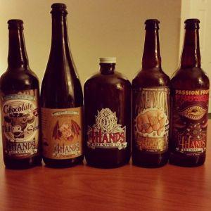 4 hands beers